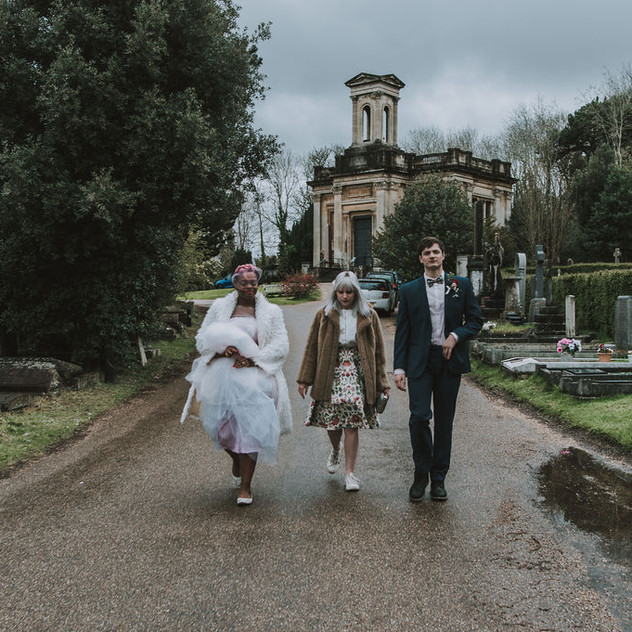 Wedding Photography at Arnos Vale