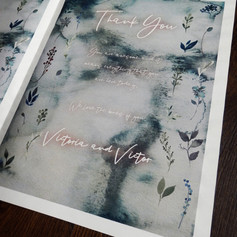 Corpse Bride themed Order of Service Newspaper   Alternative Wedding Stationery Newspapers