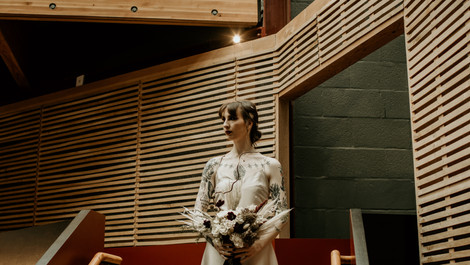 Frankenstein's Bride themed Wedding | Bristol Old Vic