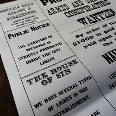Styled Shoot Newspaper | Alternative Wedding Stationery Newspapers