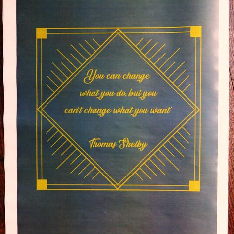Peaky Blinders themed Wedding + Civil Partnership Order of Service Newspaper | Alternative Wedding Stationery Newspapers