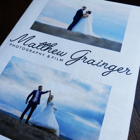 Matthew Grainger Photography Marketing Newspaper