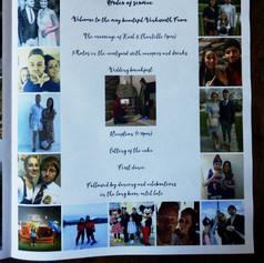 Photo Wedding Order of Service Newspaper | Alternative Wedding Stationery Newspapers