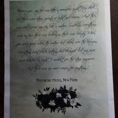 Gothic Wedding + Civil Partnership Stationery Newspaper   Alternative Wedding Stationery Newspapers
