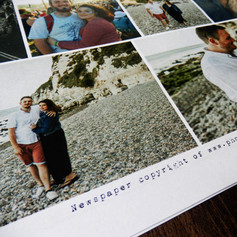 Wedding Newspaper | Alternative Wedding Stationery Newspapers