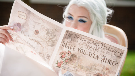 ALICE IN WONDERLAND THEMED WEDDING INSPIRATION | PARKWAY HOTEL, LEEDS