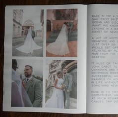 Alternative wedding thank you cards