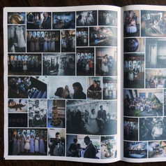Wedding Photo Newspaper