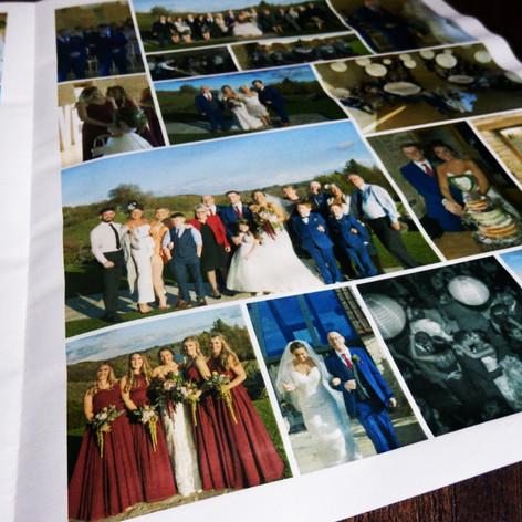Wedding Photo Thank You Newspaper   Alternative Wedding Stationery Newspapers