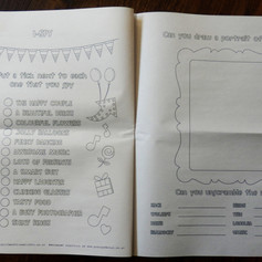 Wedding + Civil Partnership Childrens Activity Pack Newspaper | Alternative Wedding Stationery Newspapers