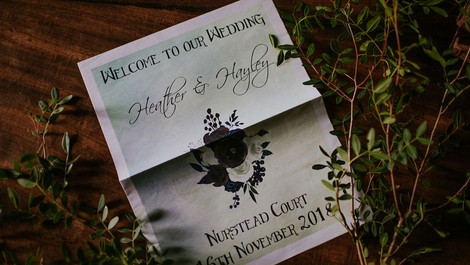 MOODY GOTHIC ROMANCE THEMED WEDDING INSPIRATION | NURSTEAD COURT, KENT