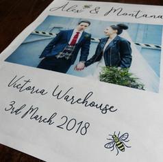 Wedding Thank You Newspaper | Alternative Wedding Stationery Newspapers