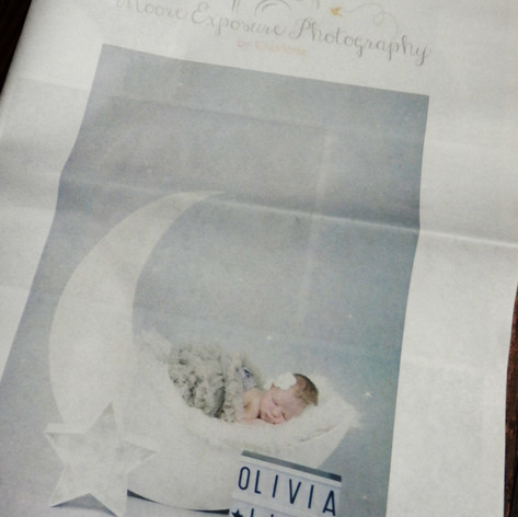 Charlotte Moore Photography Marketing Newspaper