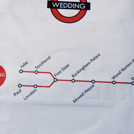 London themed Wedding Invite Newspaper   Alternative Wedding Stationery Newspapers