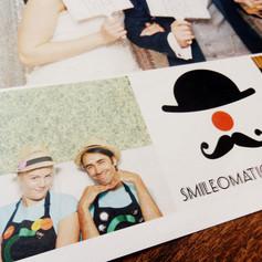 Smileomatic Photobooths Marketing Newspaper