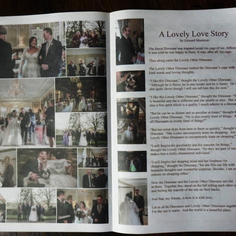Edward Monkton Wedding Reading