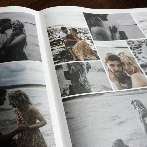 Wedding Save the date Newspaper