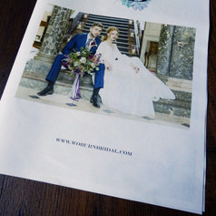 Woburn Bridal Marketing Newspaper