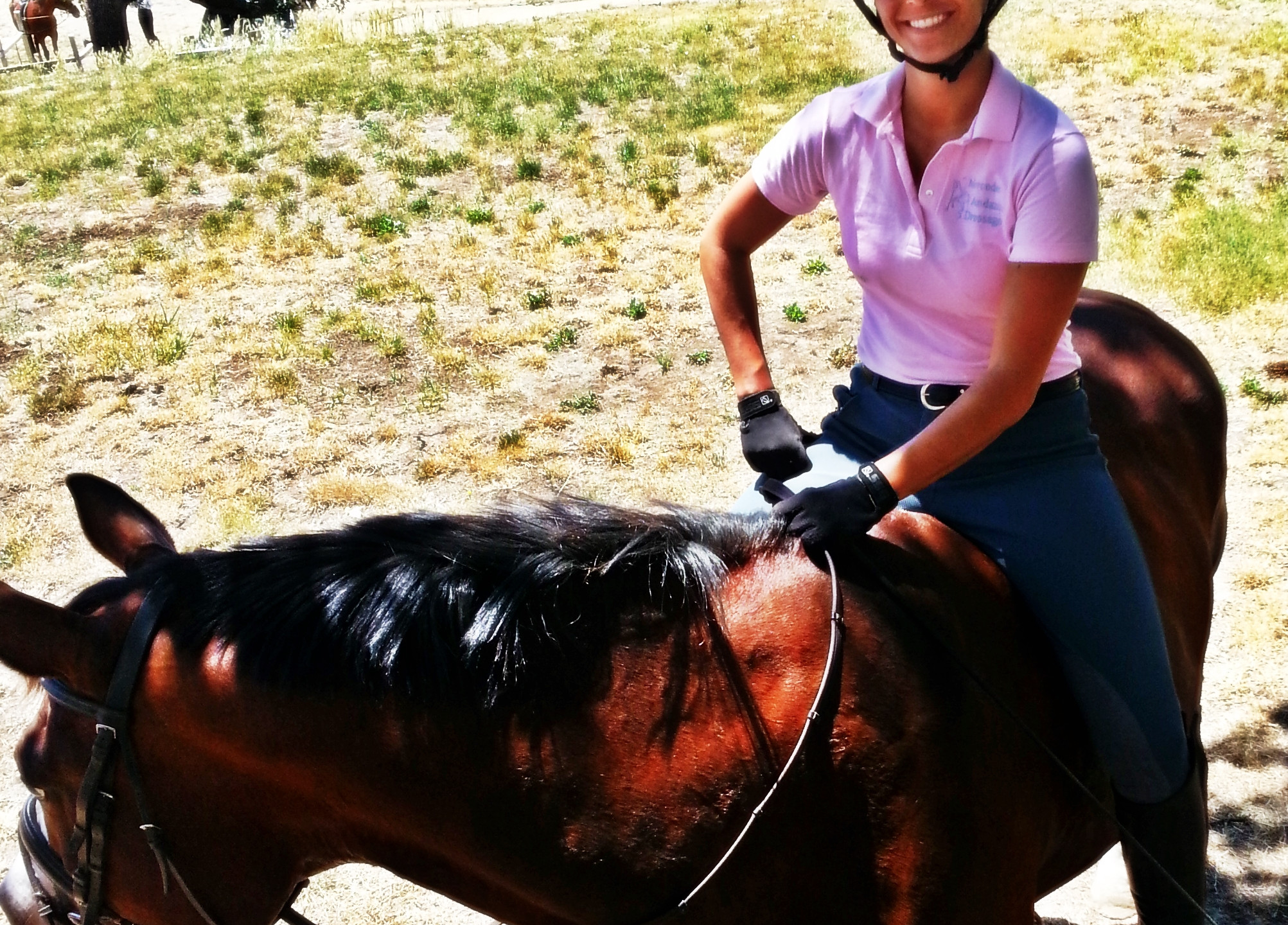 Mercedes Andazola Dressage Horse Trainer