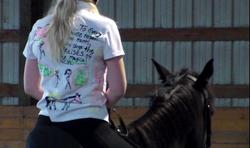 I spy puff paint, Pony Pal...