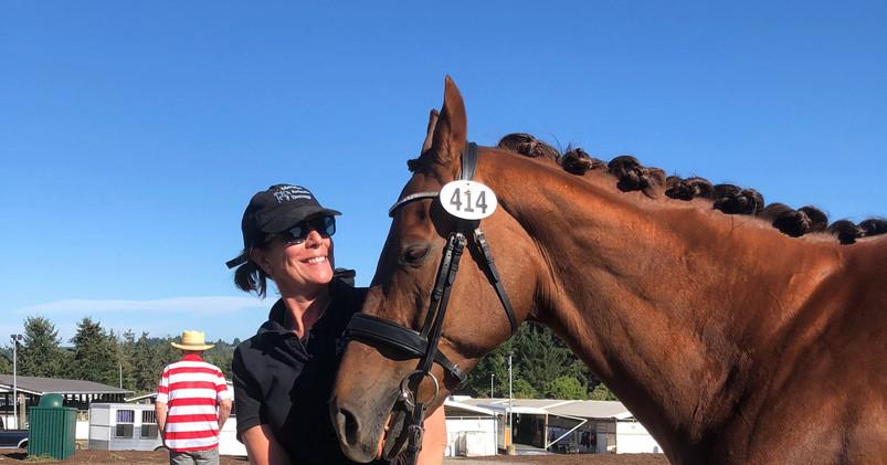 Janet and her prize pony, Möbius strip