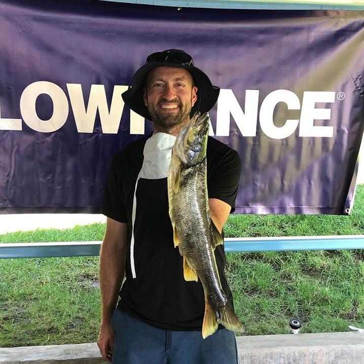 Day 1 Pike Minnow - Jason Shull  4.0lbs.