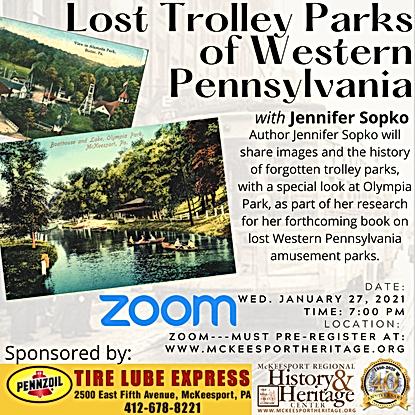 Jen Sopko Lost Trolley Parks of Western
