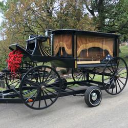 Striffler's antique hearse