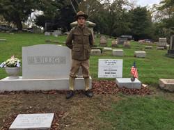 Carl Willig, lost in France 1918