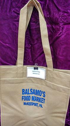 Balsamo's tote bag