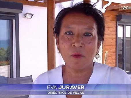 Comment relancer le Tourisme en Guadeloupe après cette crise du COVID-19 ? (ITW TF1 au 20h du 21/05)