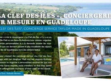 La Clef des Îles, Conciergerie Sur-mesure en Guadeloupe (Hors-Série YACHTING 2020/Figaro Nautisme)