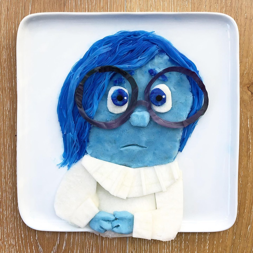 "Sadness from ""Inside Out"""