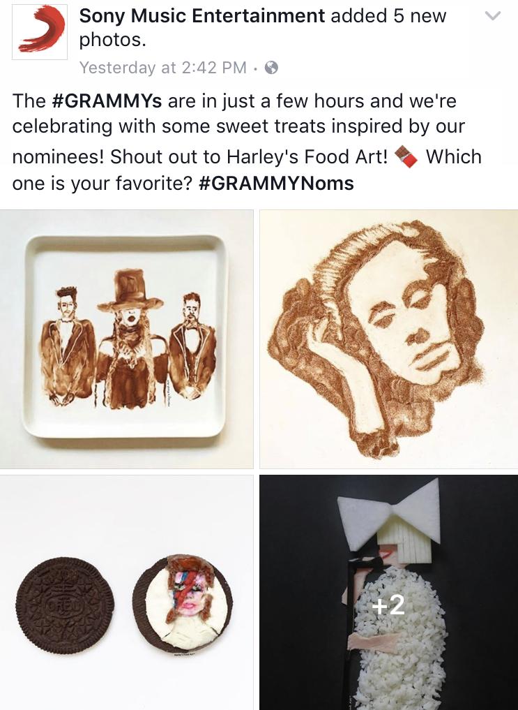 Grammy's 2017