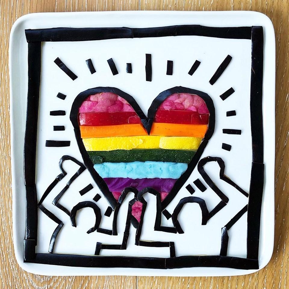 Keith Haring Pride