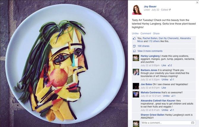 Joy Bauer's Tasty Art Tuesday