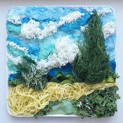 "Van Gogh -""Wheat Field w/ Cypresses"""