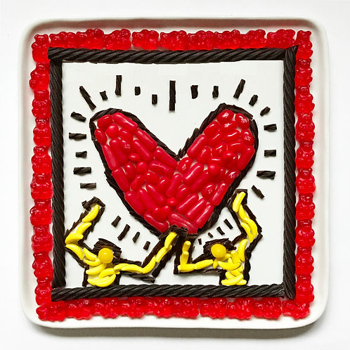 Candy Heart Keith Haring