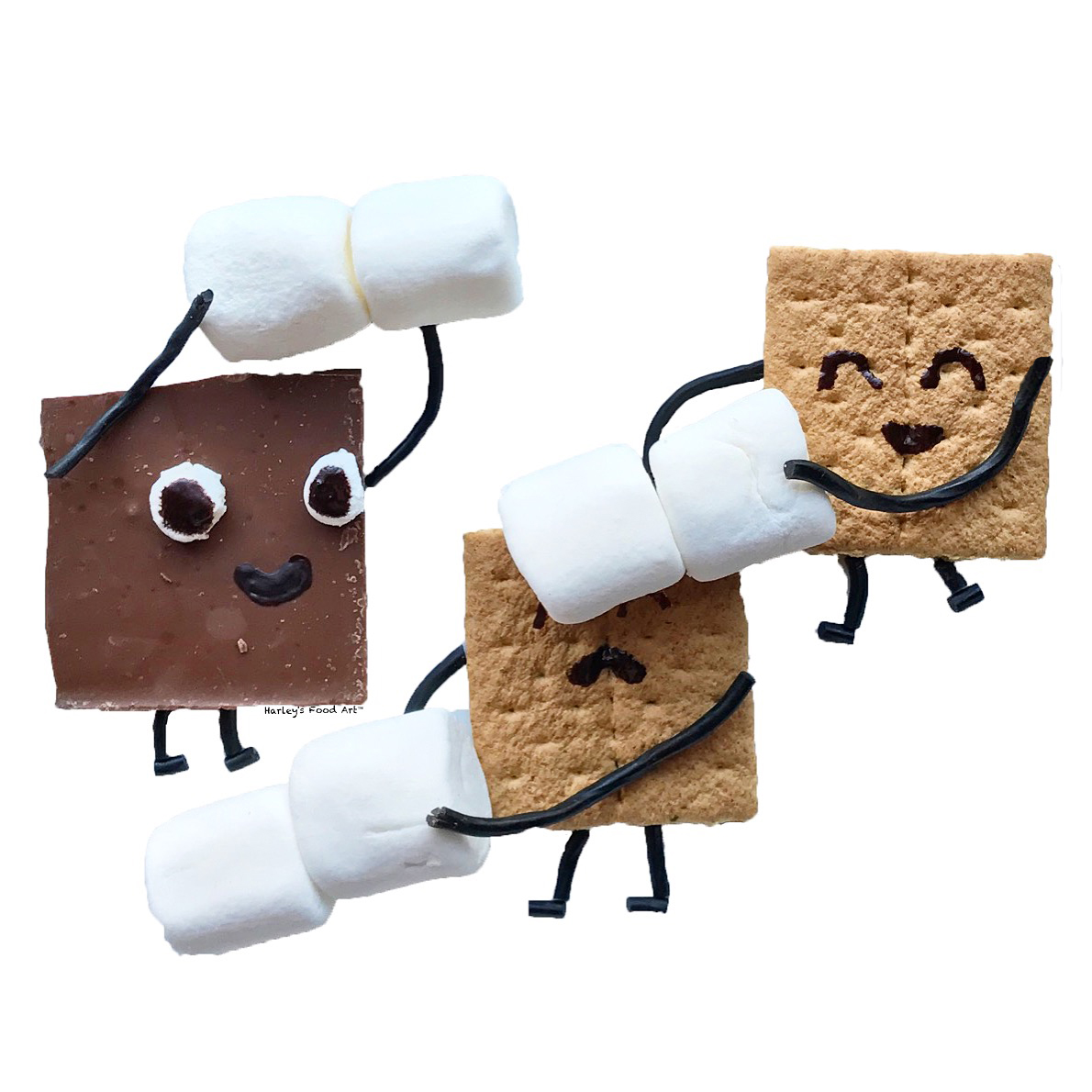 S'mores Pillow Fight