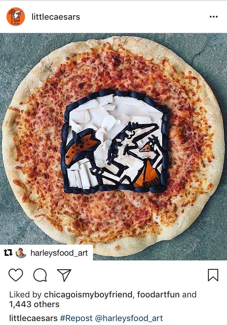 Little Caesars Logo Pizza