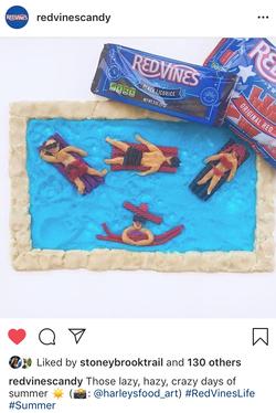 Summer Pool Scene