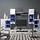Thumbnail: Szafka RTV (z kolekcji) Vusher biała połysk