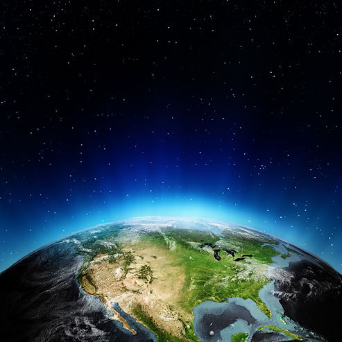 USA from space. Elements of this image furnished by NASA.jpg