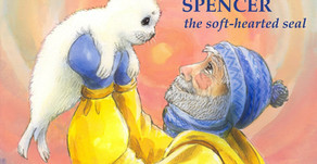 """The Soulful Adventure of Spencer, the Soft-hearted Seal"" - available on Audible, Amazon, and iTunes"