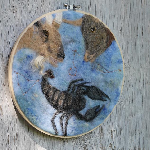 Custom Horoscope Piece