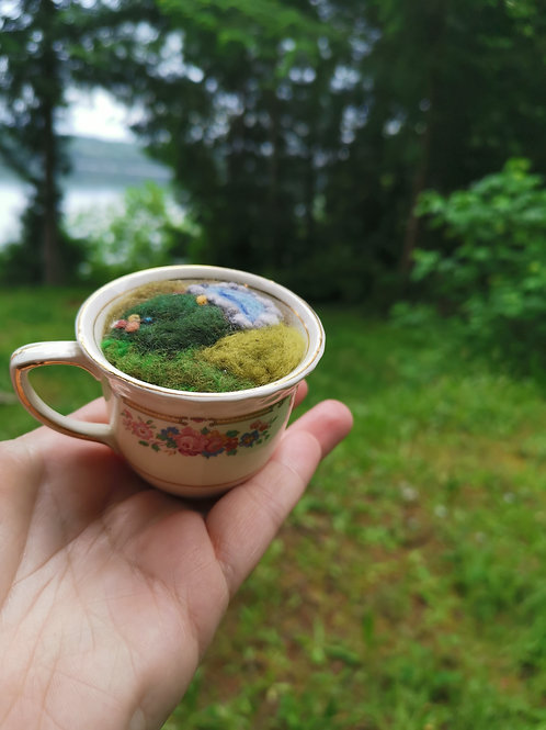 A cup of the world.