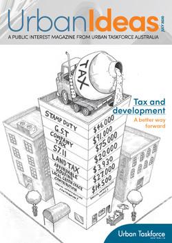 24pp magazine for Urban Taskforce Australia