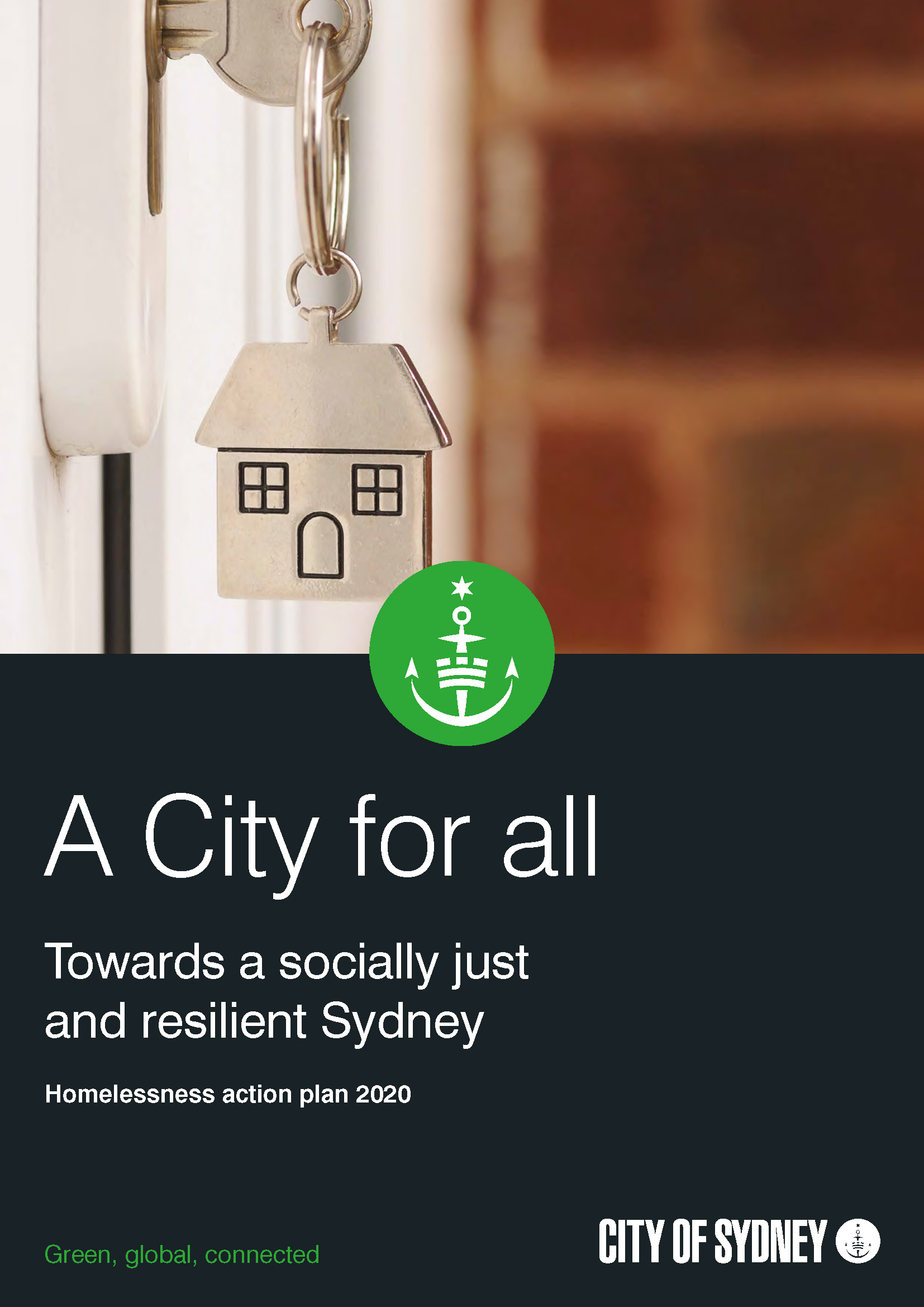 City of Sydney Homelessness Action Plan 2020