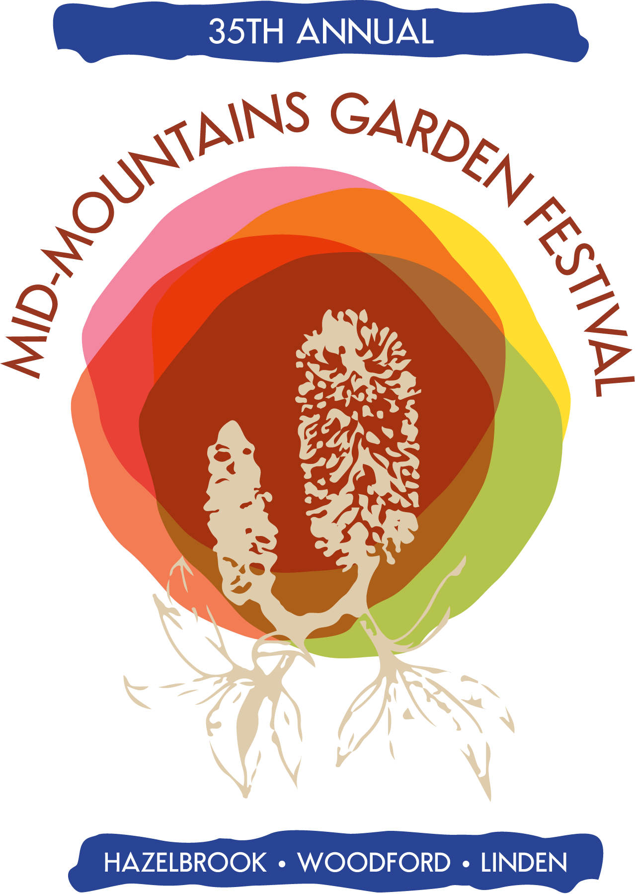 Mid-mountains Garden Festival Logo