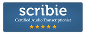 Scribie Certified Audio Transcriptionist